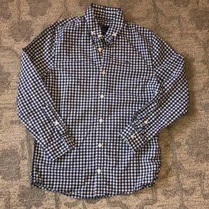 Boy's Arawak Gingham Whale Shirt